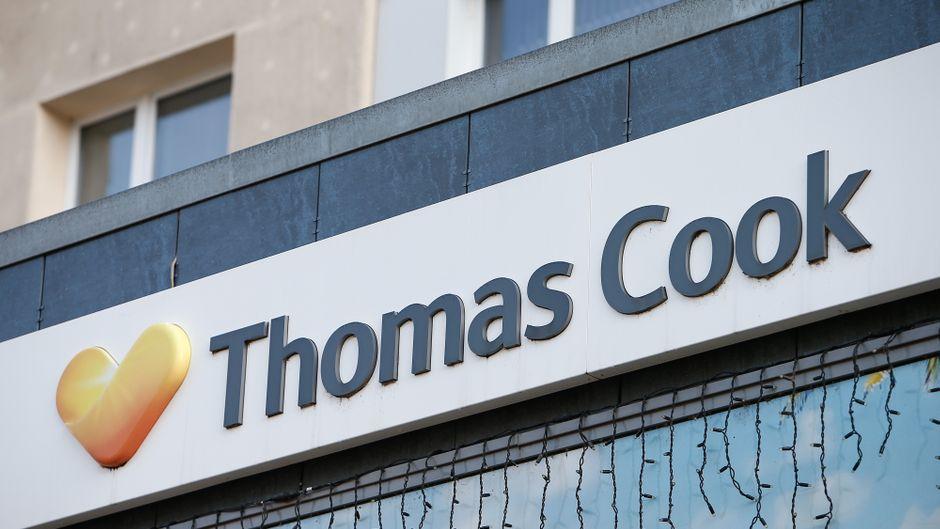 Thomas-Cook-Filliale. (Symbolbild)