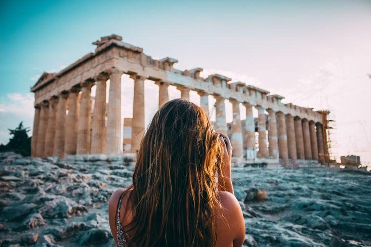 Auf Fototour in Athen.