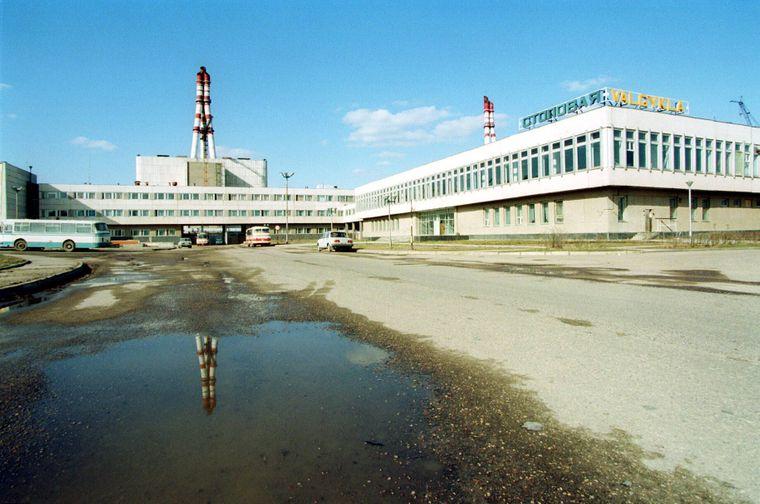 Das Atomkraftwerk Ignalina ist seit rund zehn Jahren stillgelegt.