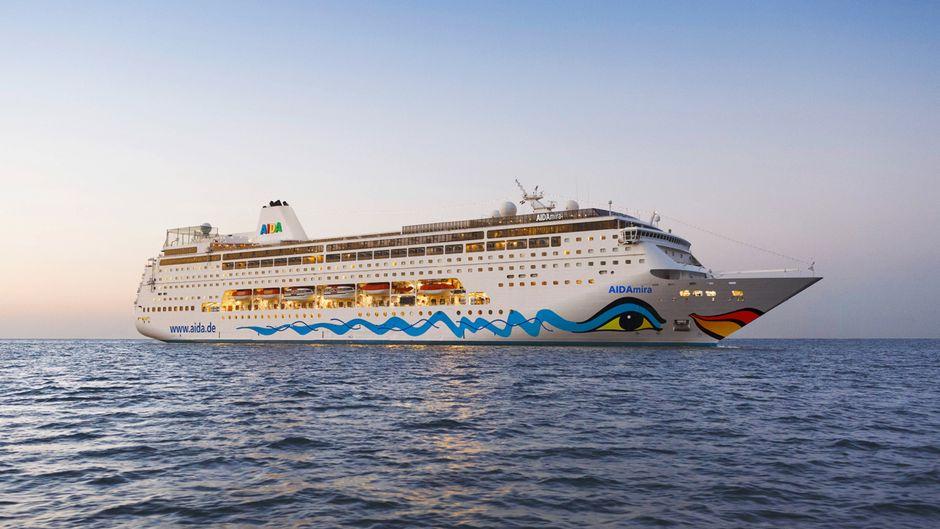 """Die """"Aida Mira"""" ist das neueste Kreuzfahrtschiff in der Aida-Flotte."""