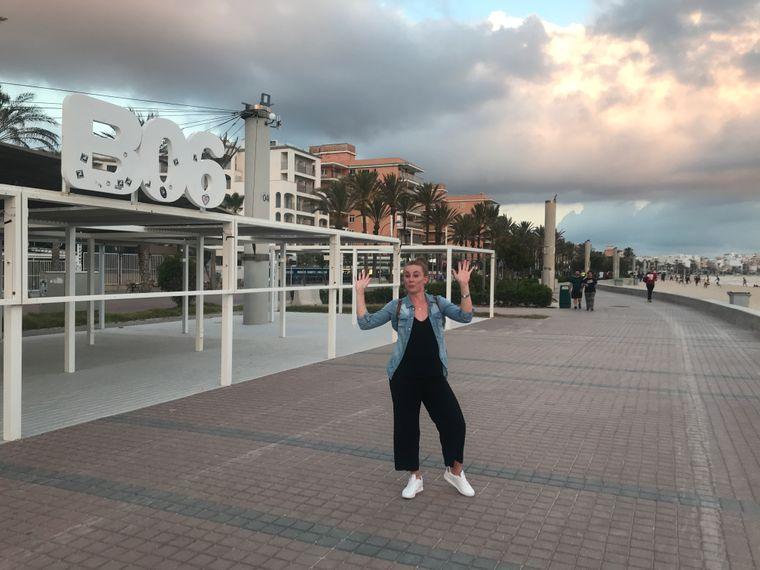 Leere am Ballermann 6 – reisereporterin Maike Geißler ist im Rahmen des Tourismus-Pilotprojektes auf Mallorca.