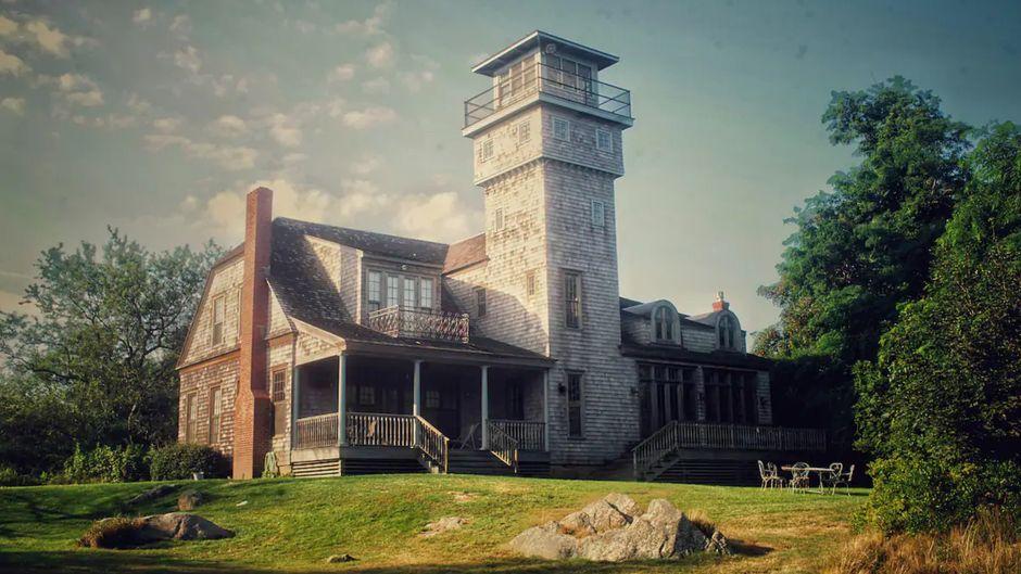 Das charmante Gebäude wurde ursprünglich als Lebensrettungsstation errichtet.
