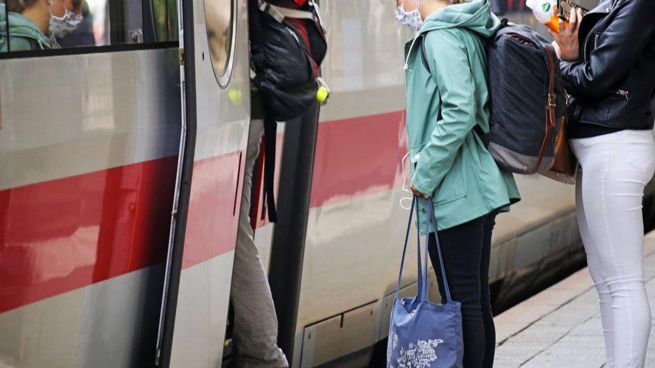 Mit den IC und ICE der Deutschen Bahn kommst du künftig wieder in Nachbarländer wie Dänemark, Polen und Frankreich. (Symbolfoto)