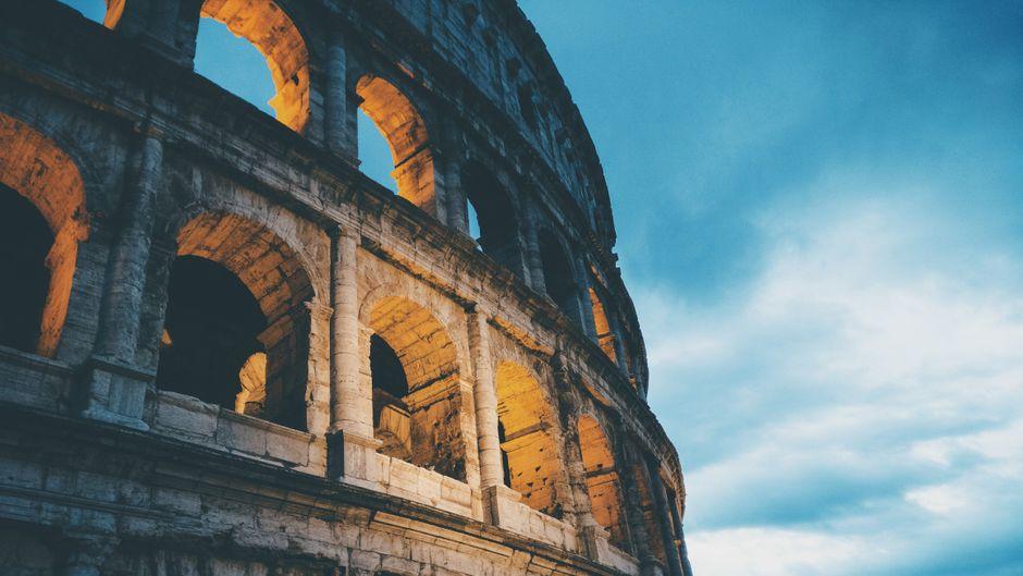 Das Kolosseum in Rom gehört zu den Top-10-Sehenswürdigkeiten Europas auf Instagram.