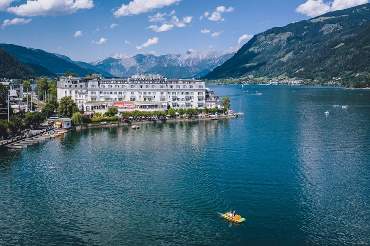 Das Grandhotel in Zell am See.