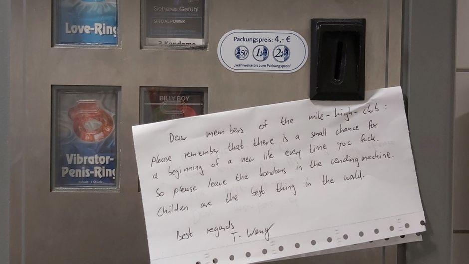 """Flughafen Düsseldorf: Sex-Brief an """"Mile High Club-Anwärter"""