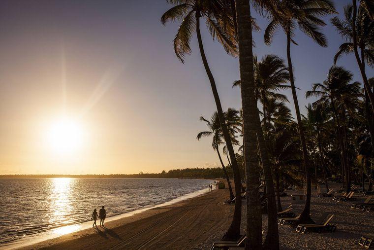 Der Bavaro Beach liegt am östlichen Zipfel der Dominikanischen Republik.