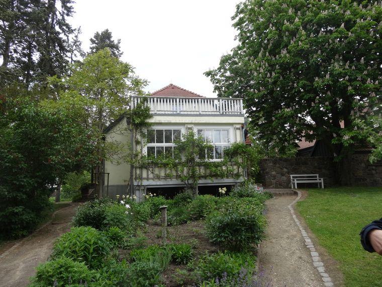 Das Haus von Hans Fallada in Carwitz ist ein weiterer Anziehungspunkt in der Region.