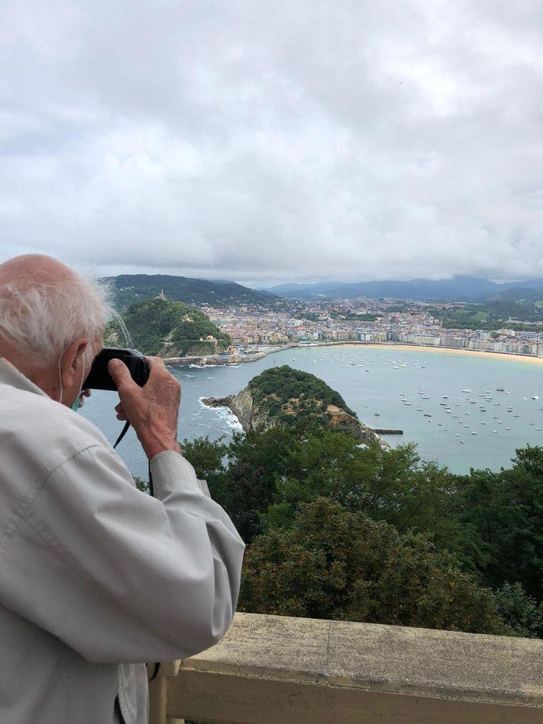 Carlos hat die Europa-Reise bereits in den 60er- und den 90er-Jahren gemacht.