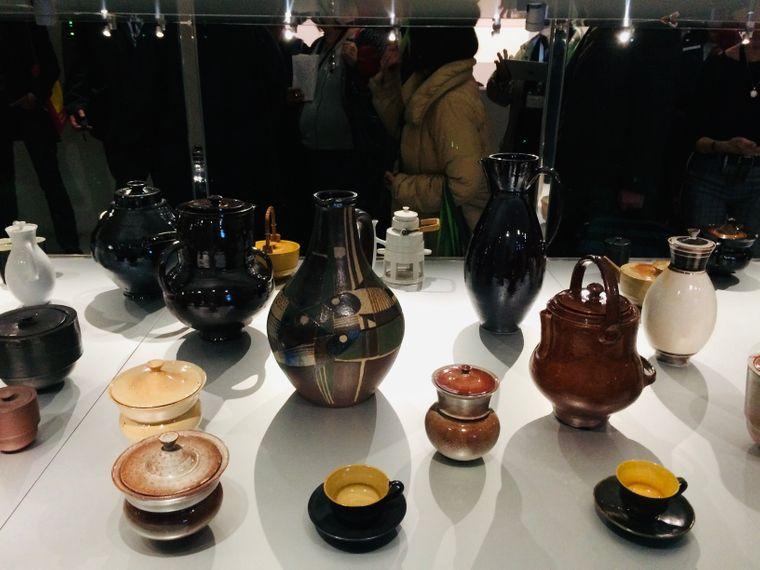 Die Keramiken aus der Gropius-Sammlung überstand den Zweiten Weltkrieg unbeschadet.