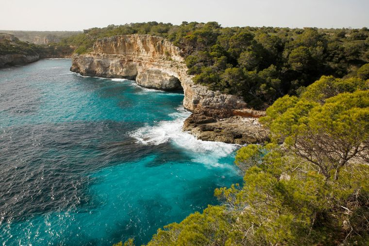 Die wohl bekannteste Insel: Mallorca.