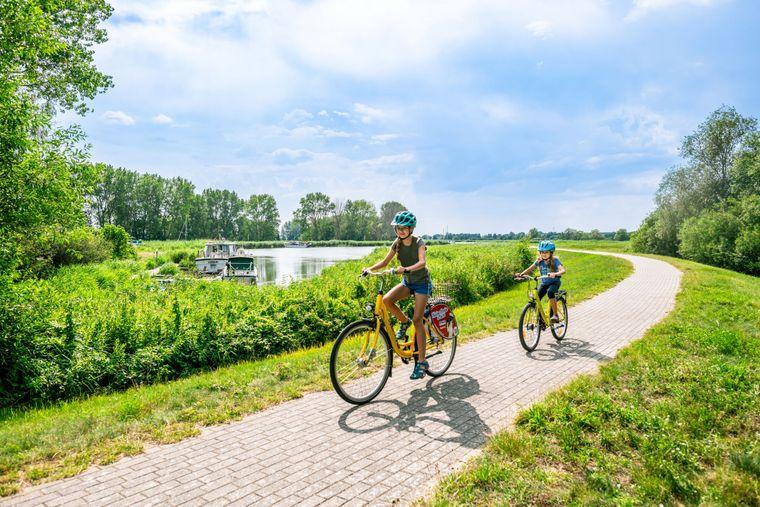 Radfahren am Achterwasser