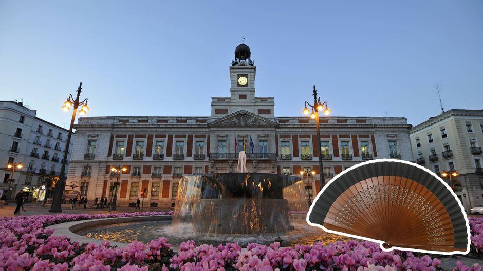 Handfächer waren einst ein beliebtes Accessoire der Adeligen. In Madrid kauft man die Abanicos heute am besten bei dem Geschäft Casa de Diego.
