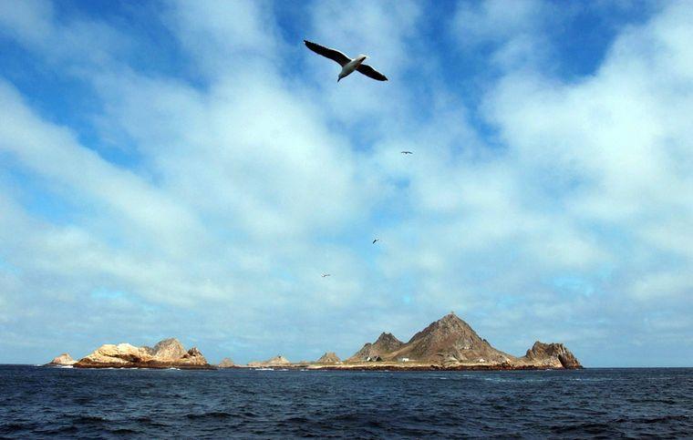 Farralon Islands vor San Francisco.