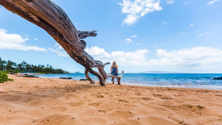 In Zeiten der Corona-Krise sind Touristen auf der Insel Hawaii nicht ganz so gern gesehen. (Symbolbild)