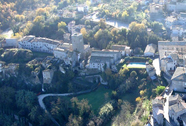 Bassano in Teverina befindet sich 84 Kilometer nördlich von Rom im Tal des Tiber, das ist der drittlängste Fluss Italiens.