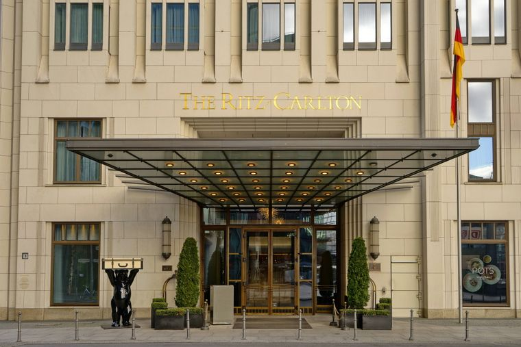 Das Hotel Ritz-Carlton in Berlin.