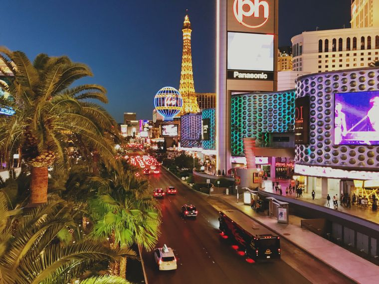 Strip von Las Vegas.