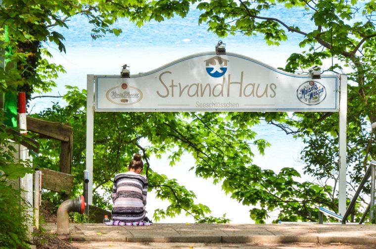 """""""Strandhaus"""" in Dänisch Nienhof"""