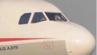 Eine Scheibe im Cockpit des Flugzeuges war geplatzt.