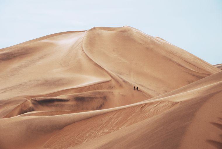 Zeit für dich: In der Namib-Wüste findest du garantiert einen einsamen Ort.