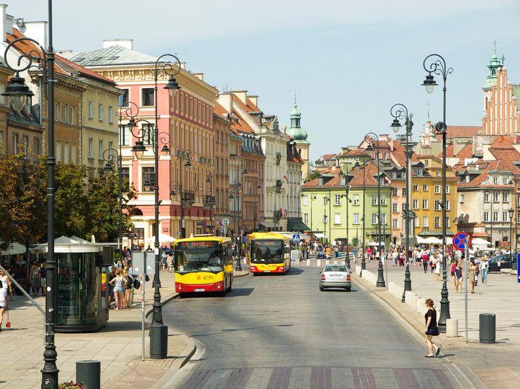 Altstadt von Warschau.