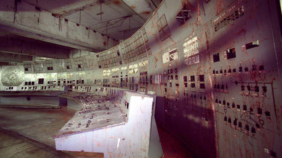 Die Schaltzentrale im Reaktor 4: Von hier nahm die Nuklearkatastrophe 1986 ihren Lauf.