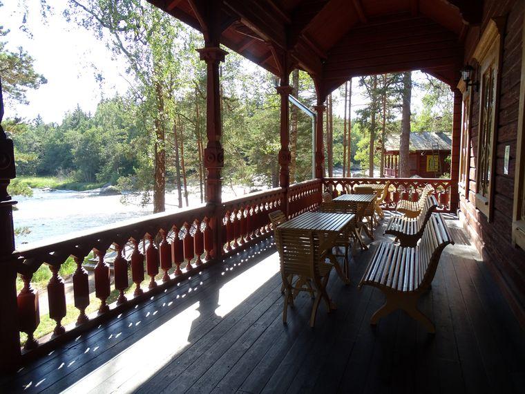 Großfürst Alexander III. verbrachte ausgiebige Sommerurlaube in seinem Fischerhaus Langinkoski am Kymijoki-Flussdelta in Finnland.