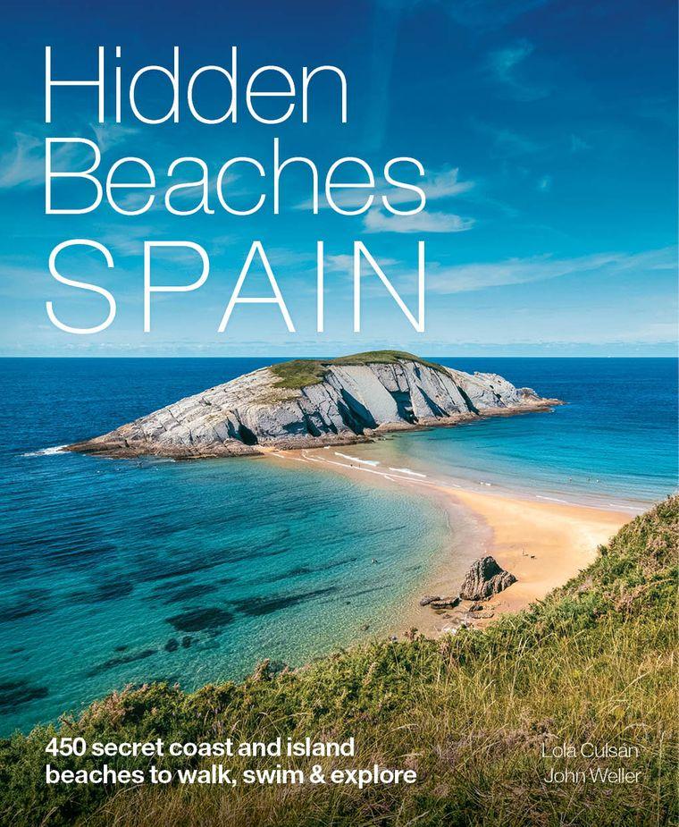 """Das Buch """"Hidden Beaches Spain"""" ist 2021 erschienen."""