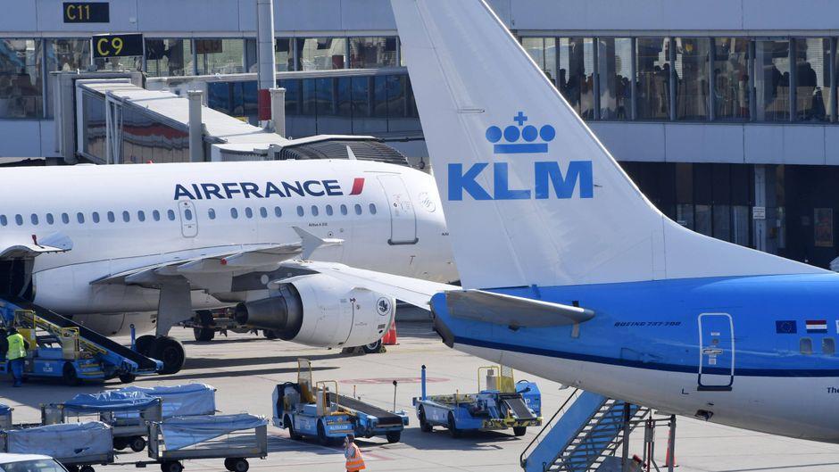 KLM und Air France fusionierten 2004 zu Air France-KLM.