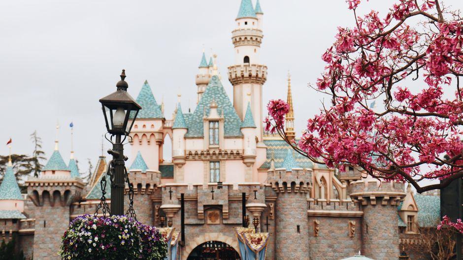 Das Disneyland bei Paris.