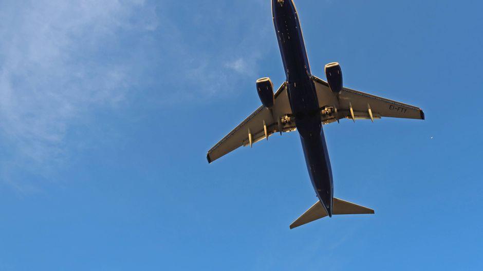 Zwischen zwei Ryanair-Flugzeugen kam es über Spanien beinahe zur Kollision. (Symbolfoto)