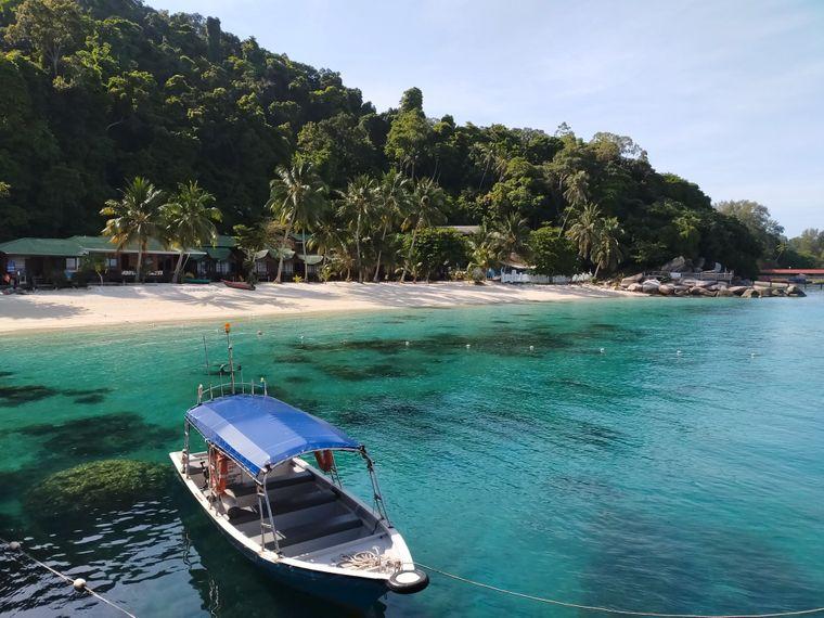 Perhentian Islands in Malaysia