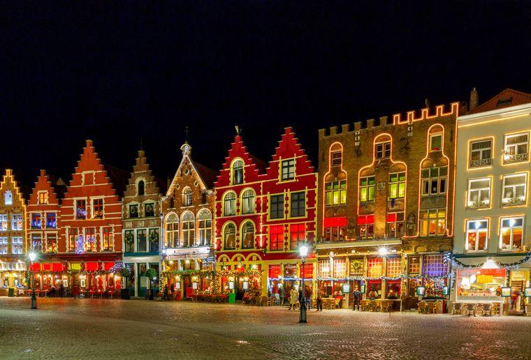 Brügge in Belgien ist besonders märchenhaft zu Weihnachten.