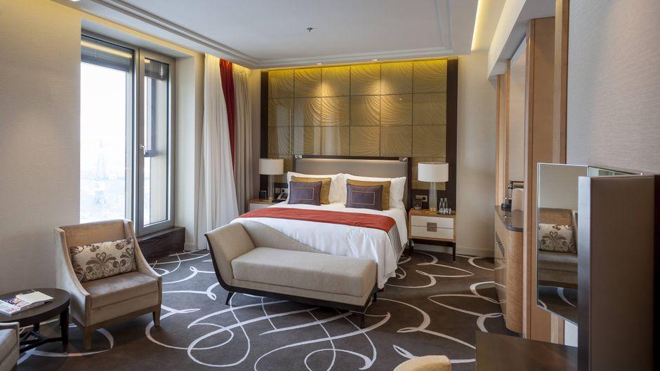 Das 5-Sterne-Hotel Waldorf Astoria in Berlin.
