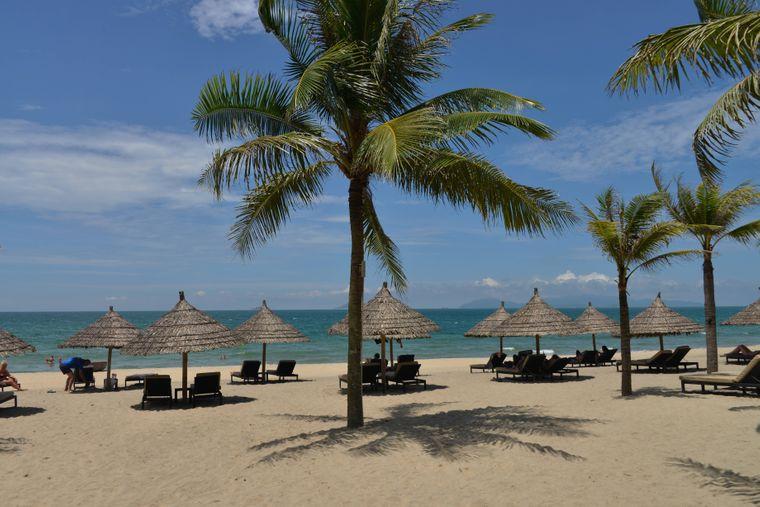 Am günstigsten ist die Sonnencreme am Cua Dai Beach in Hoi An: Die Tube bekommst du für umgerechnet 2,07 Euro.