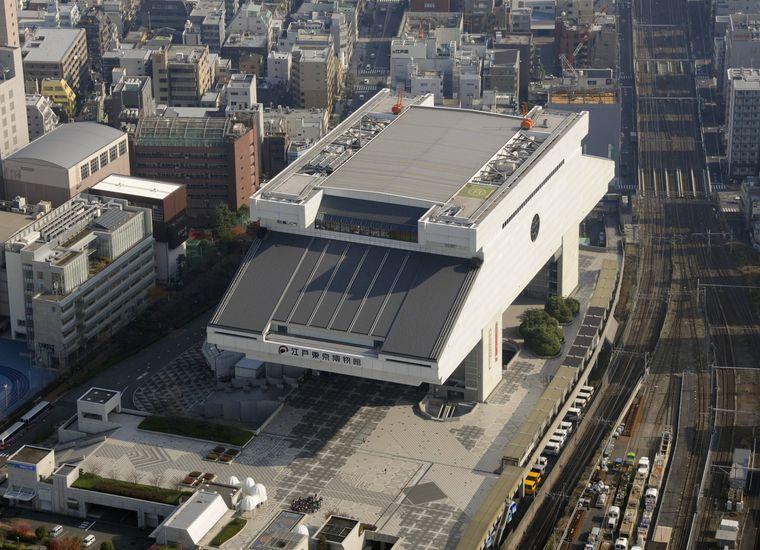 Ein Must-see ist das Edo-Tokyo-Museum in Tokio.