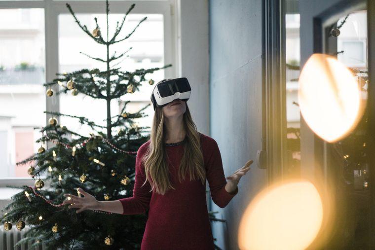 Bei einem virtuellen Rundgang kannst du verschiedene Weihnachtsmärkte weltweit besuchen. (Symbolbild)