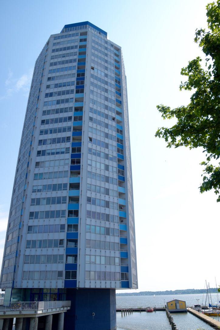Der Wikingturm in Schleswig – markantes 90 Meter hohes Hochhaus.