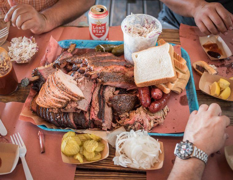 Ein Besuch von Franklin Barbecue ist ein absolutes Muss für Fans von Pulled Pork und Co.
