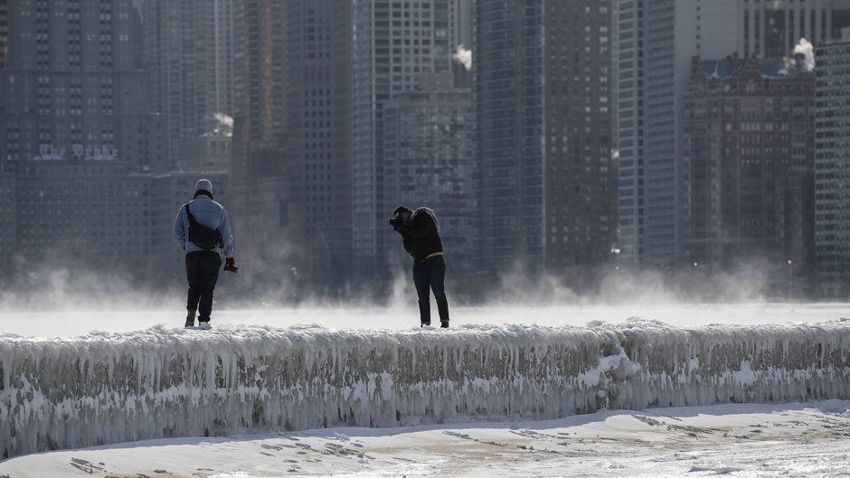 Eine Kältewelle wie diese haben die USA das letzte Mal vor mehr als 20 Jahren erlebt.