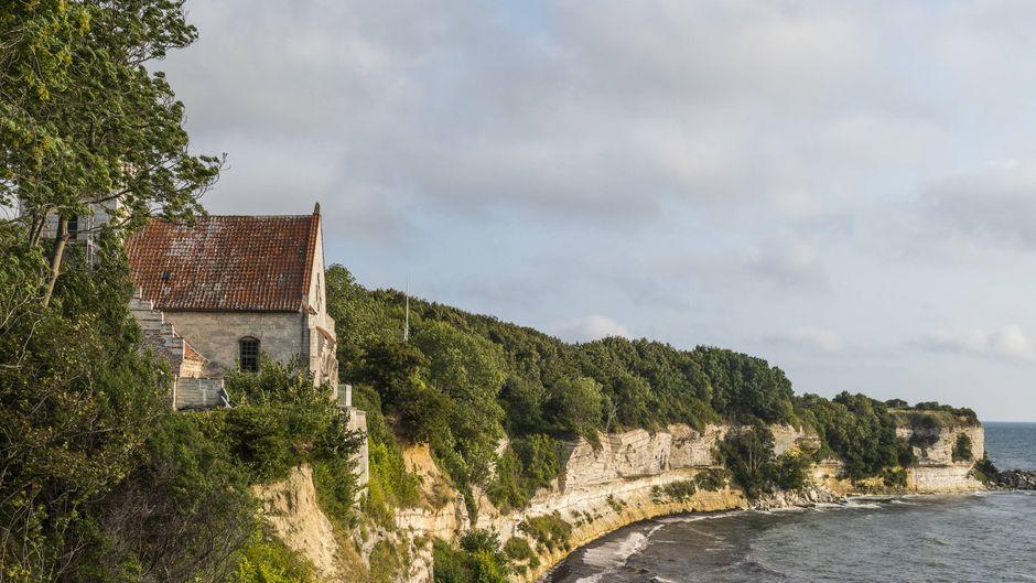 Mehr über die 65 Millionen Jahre alten Klippen von Stevns Klint kannst du bald in einem neuen Besucherzentrum erfahren.