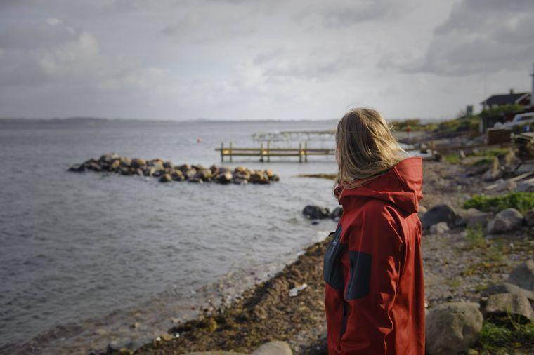 Wandern auf der schwedischen Insel Ven.