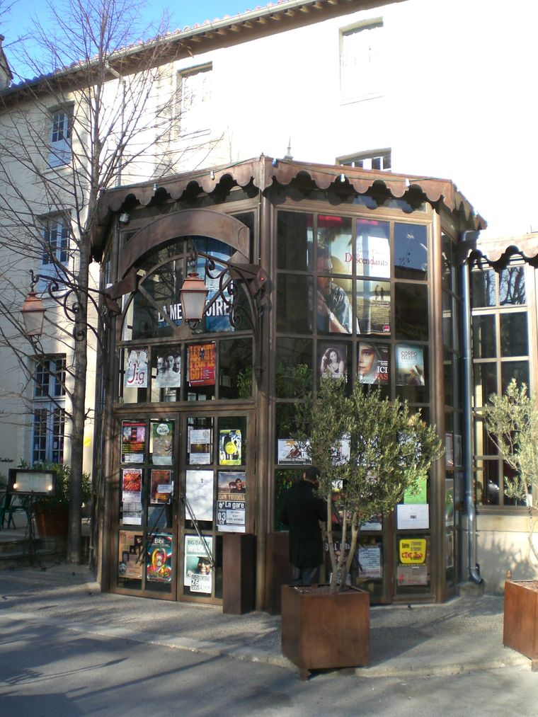 Das Kino Cinéma Utopia in Avignon.