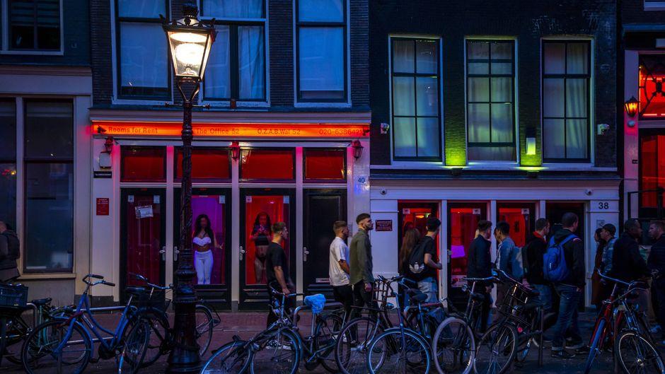 Rotlichviertel in Amsterdam.