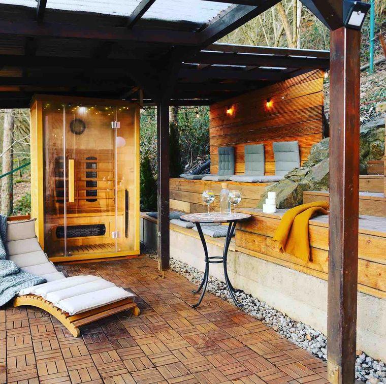 Im Wald von Bad Ems findest du dieses Luxus-Chalet irgendwo im Nirgendwo.
