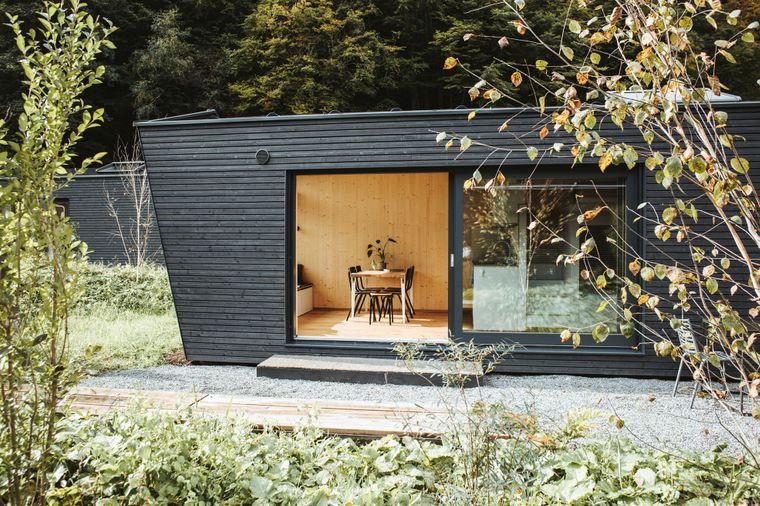 Tiny House Cabinski im Montafon in Österreich.