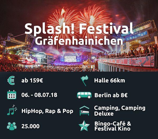 Das Splash! bietet gediegene Camping-Lodges für etwas Luxus beim Camping.