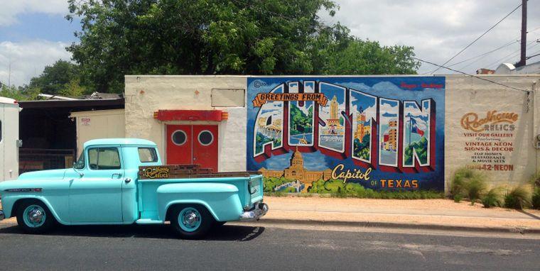 Austin unterscheidet sich sehr vom sonst eher konservativen Rest des US-Bundesstaates Texas. Vielleicht ein Grund, dass immer mehr Menschen in der angesagten Metropole leben wollen.