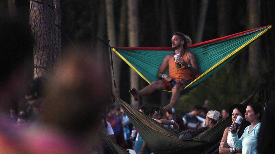 Mit gutem Gewissen feiern: So idyllisch können Ökofestivals ablaufen.